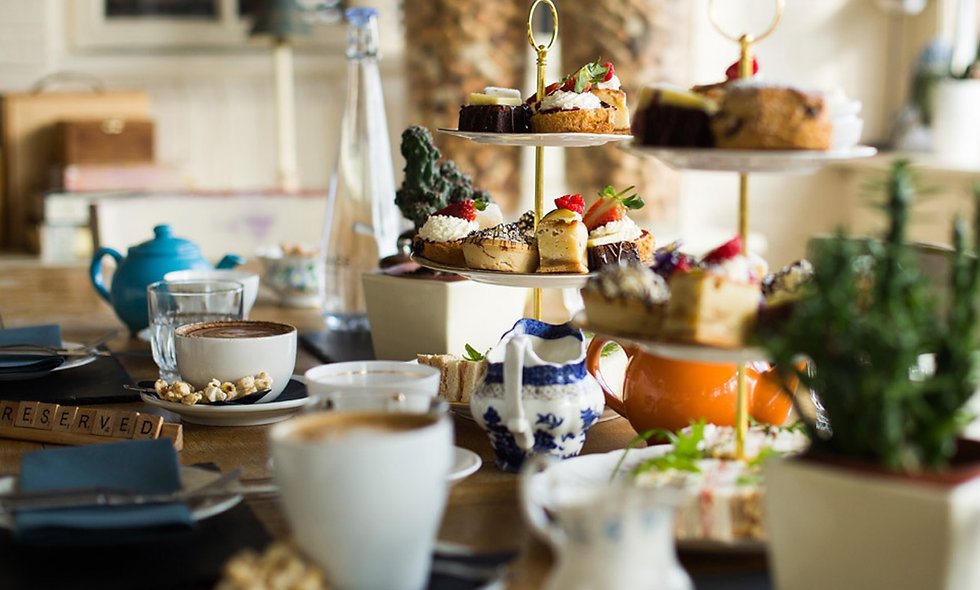 Prosecco Afternoon Tea for Two at The Vicarage Fre