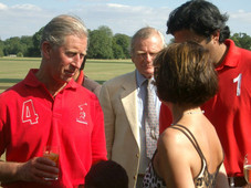 With HRH Prince Charles
