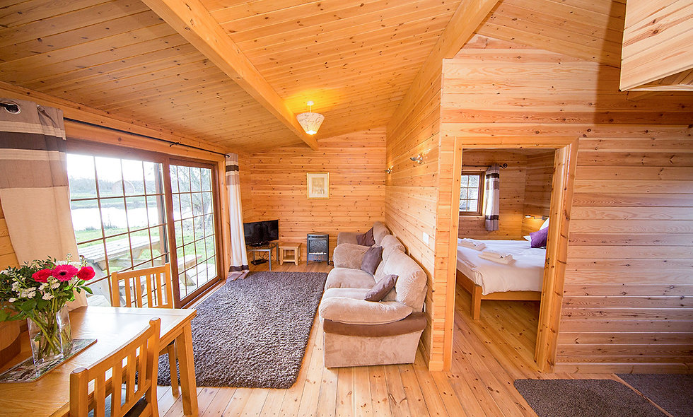 Three Night Somerset Log Cabin Escape for Two at Wall Eden Farm