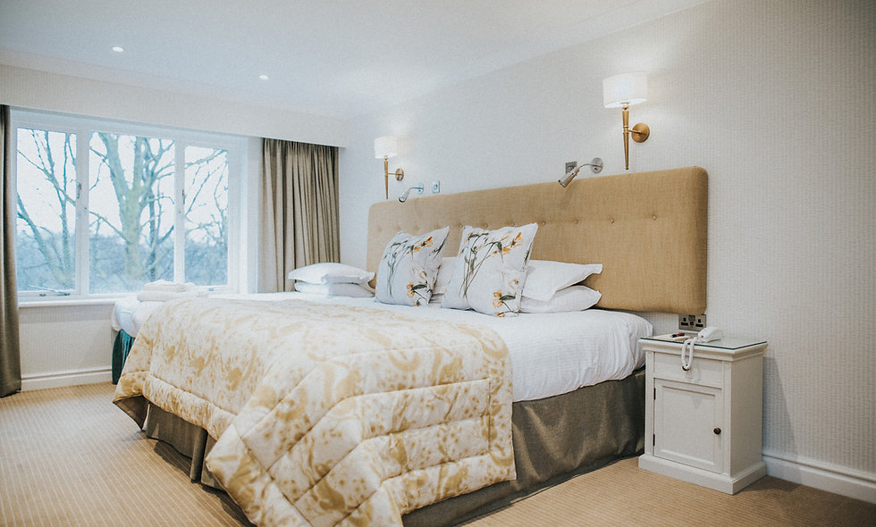 One Night Lake District Break with Five Course Dinner at Cragwood Hotel