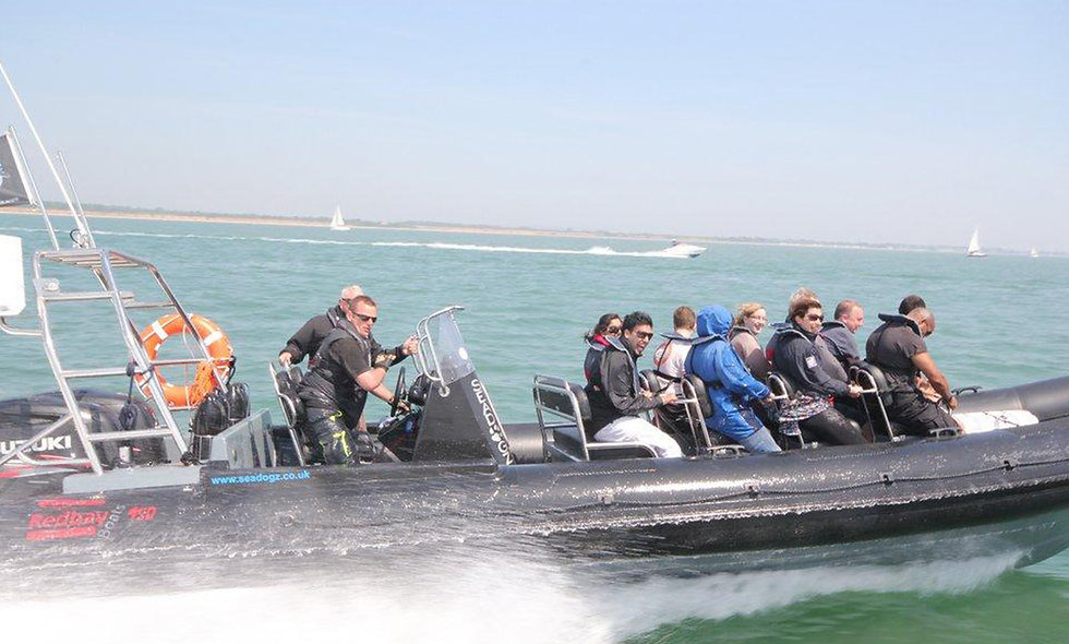 Extreme Solent 90 Minute RIB Adventure for Two