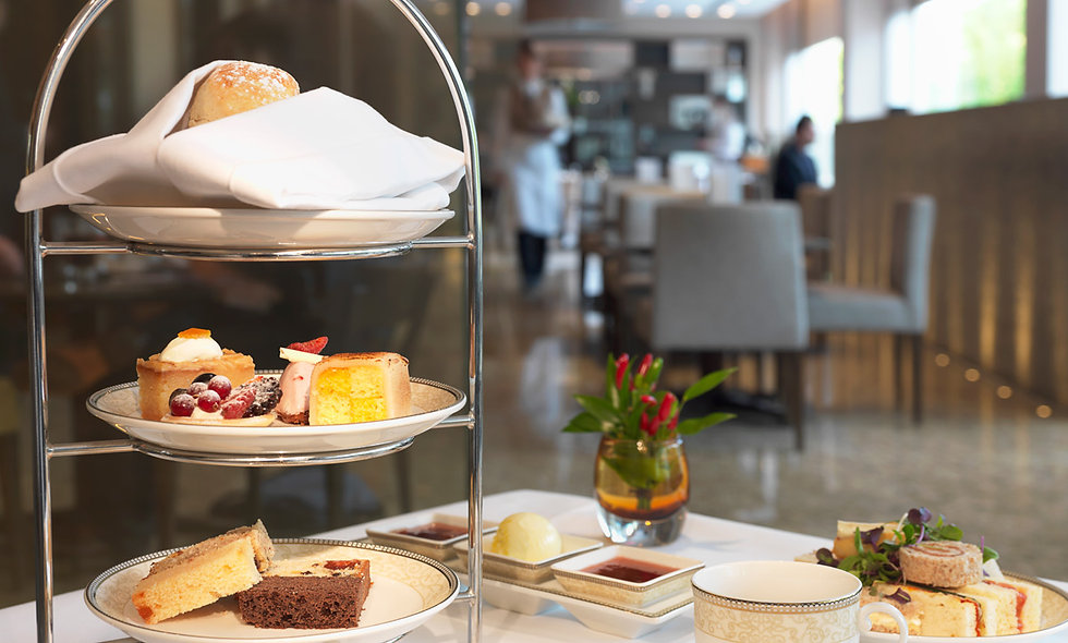 Afternoon Tea for Two at the 5* Royal Garden Hotel, London