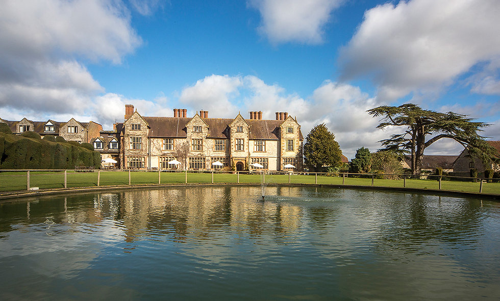 One Night Break with Dinner for Two at Billesley Manor