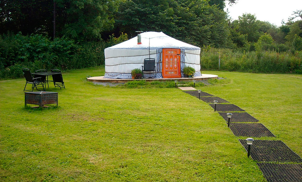 Two Night Devon Yurt Break for Four
