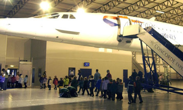 Helicopter Flight and Historic Concorde Experience