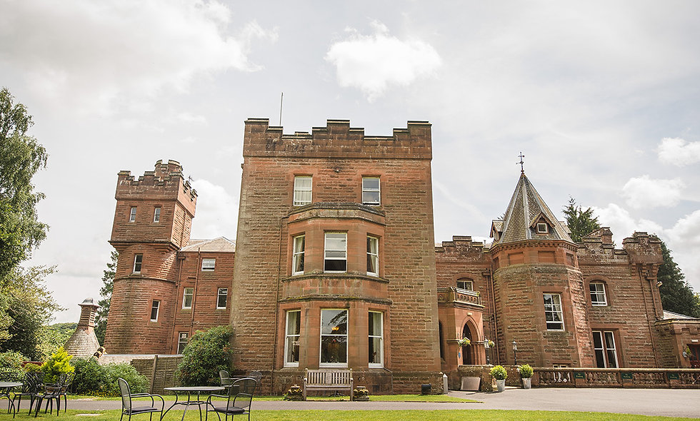 One Night Scottish Country Escape with Dinner at Friars Carse Estate