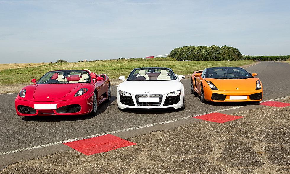 Triple Supercar Driving Experience at Goodwood Motor Circuit