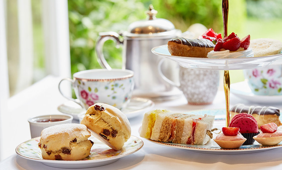 Vintage Afternoon Tea and Treatment for Two at the Spread Eagle