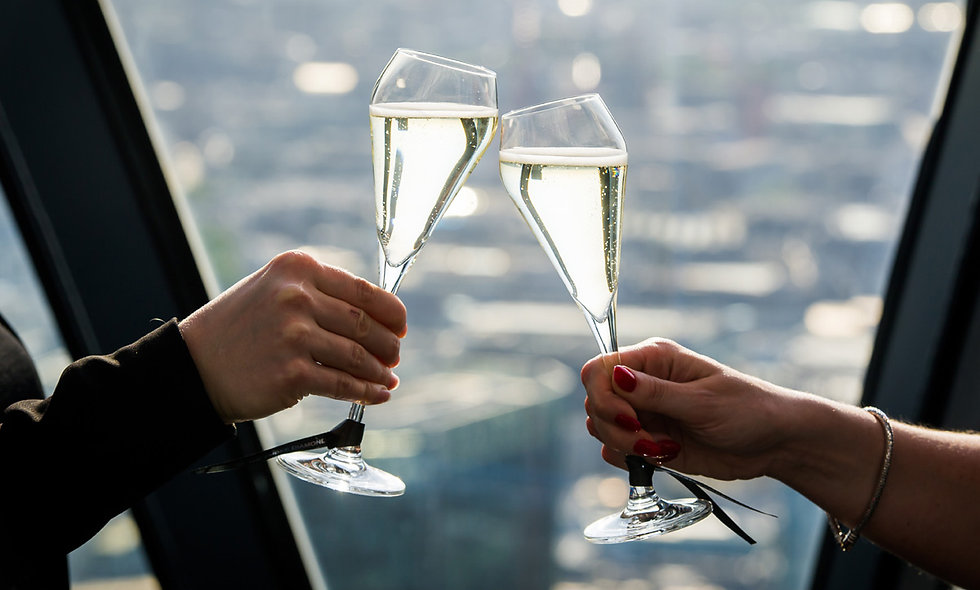 Champagne Tasting for Two at Londons Iconic Gherk