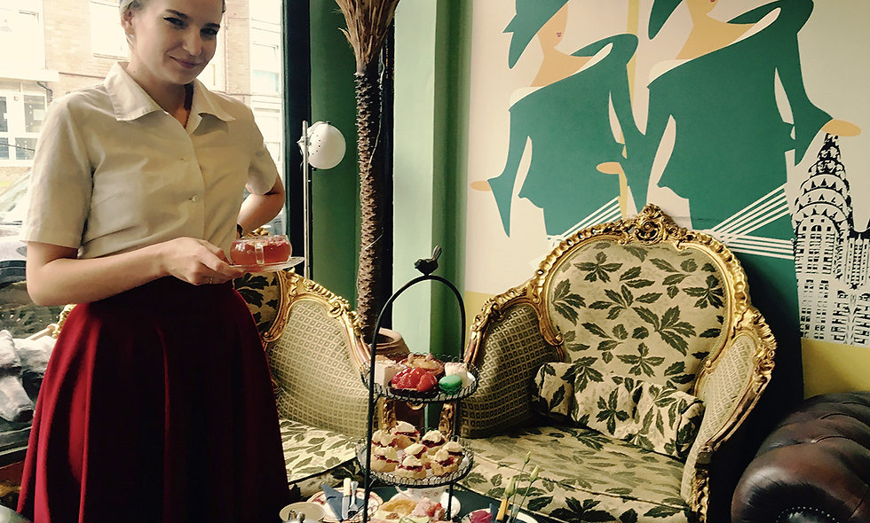 Gin Afternoon Tea for Two at Metrodeco Tea Salon