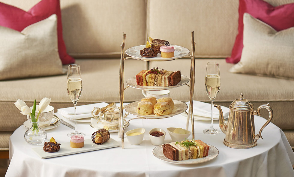 Champagne Afternoon Tea for Two at the 5* Conrad, London.