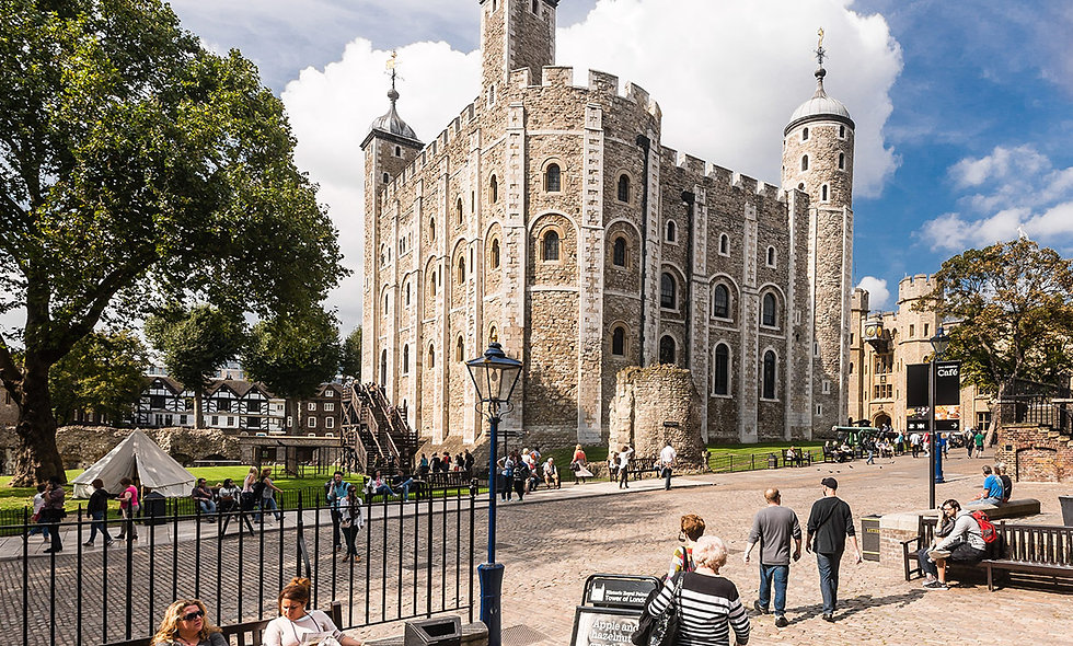 Visit the Tower of London and Sparkling Afternoon Tea