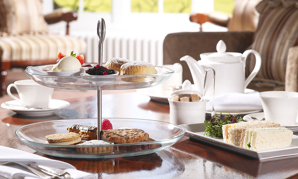 Champagne Afternoon Tea for Two at the Luxury Greenway Hotel & Spa