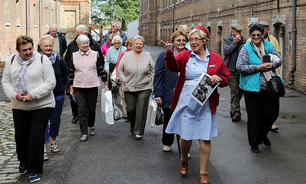 Call the Midwife Tour at The Historic Dockyard Chatham