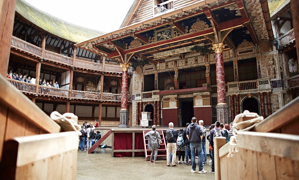 Tour of Shakespeares Globe Theatre and Sharing Tapas Meal