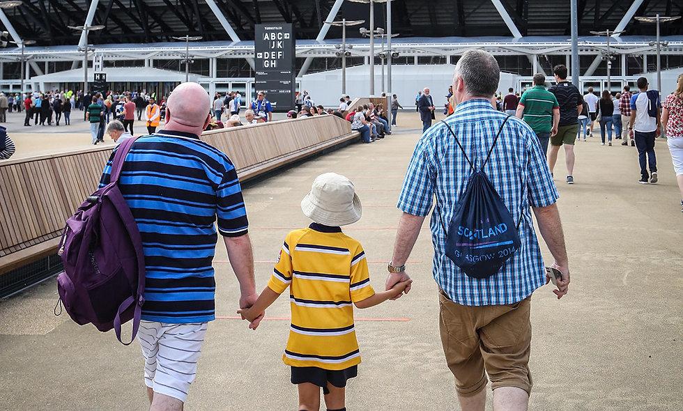 Family Tour of London Stadium