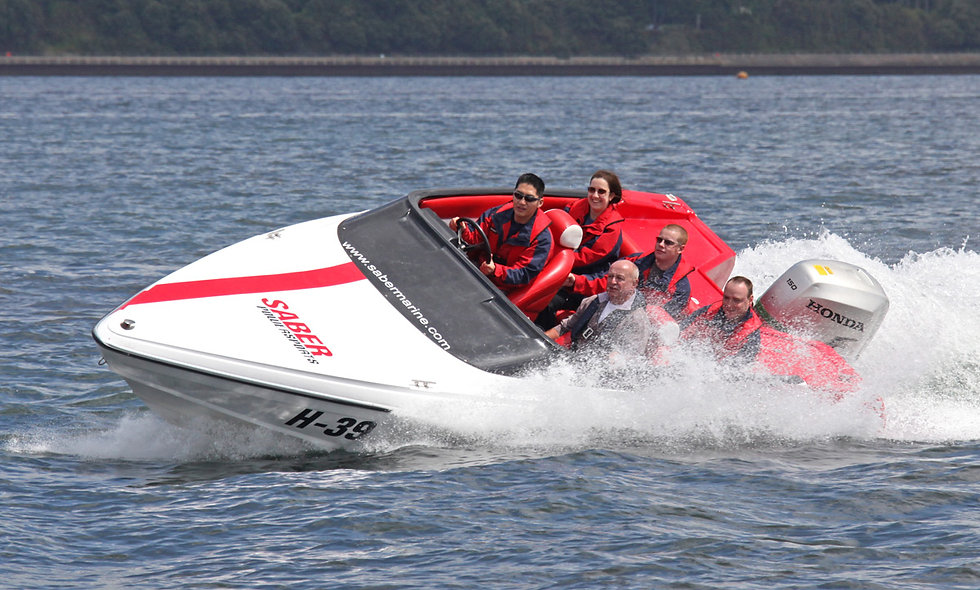 Offshore Honda 150 Powerboat Driving Experience for Two