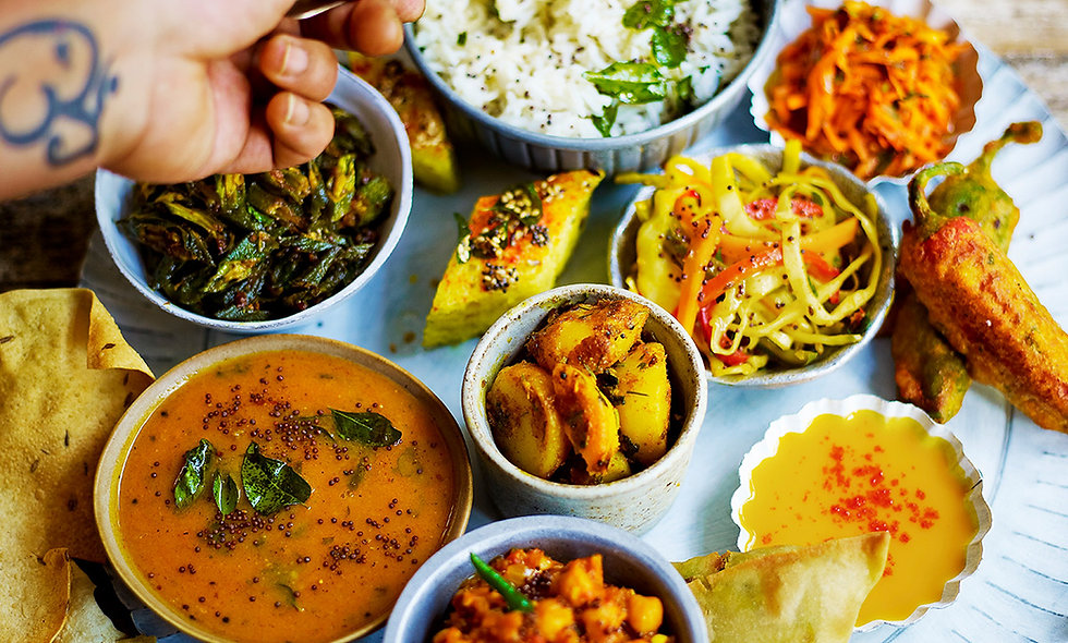North Indian Thali Class for Two at The Jamie Oliver Cooker School