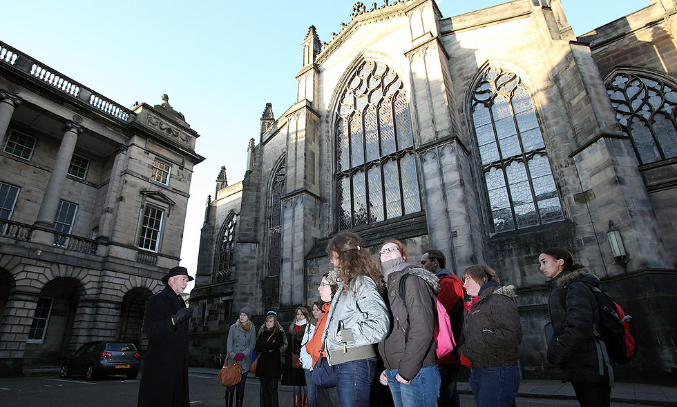 Secrets of the Royal Mile Tour and Entrance to Edinburgh's Old Town