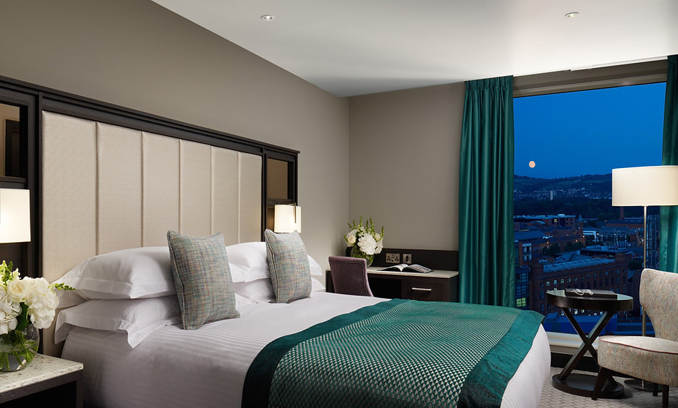 Two Night Belfast City Break with Dinner for Two at the Grand Central Hotel