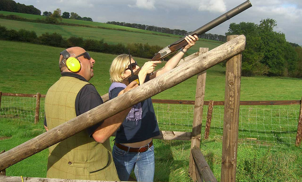 Clay Shooting Experience with Seasonal Refreshment
