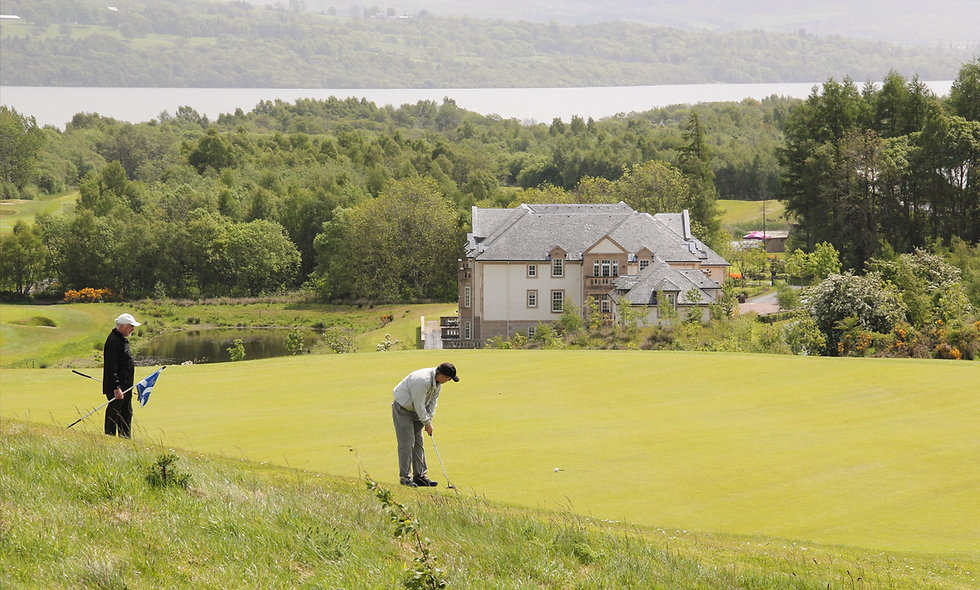 Round of Golf with Breakfast and Lunch for Two at Carrick Golf Course