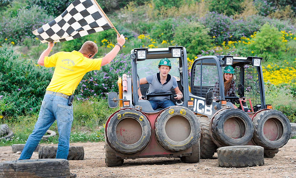 Dumper Truck Racing for Two