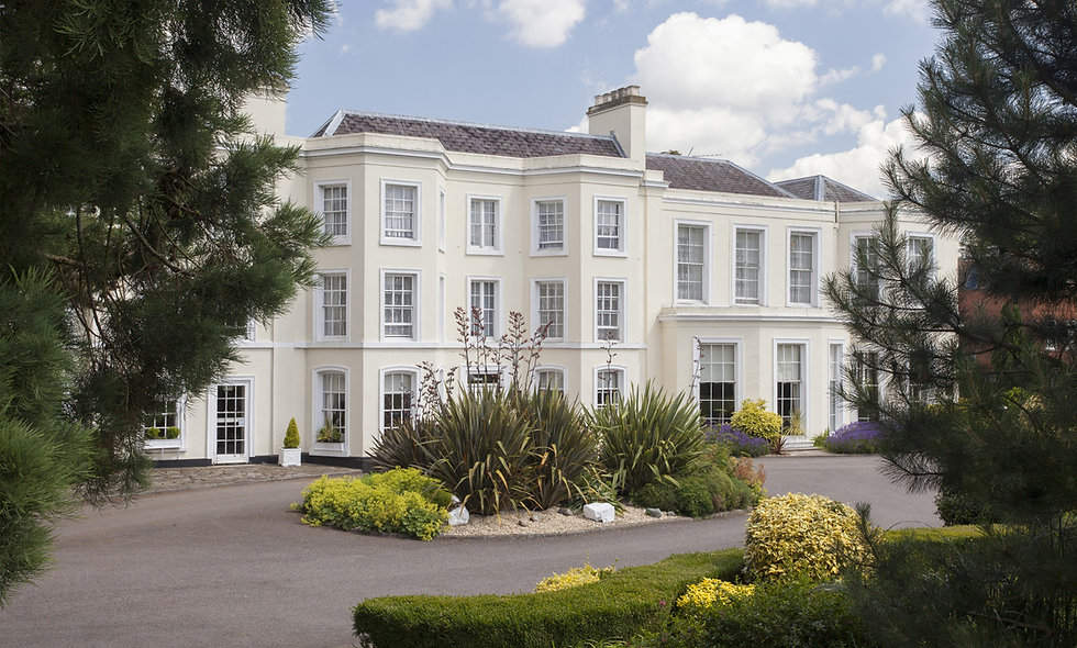One Night Break with Dinner for Two at The Burnham Beeches