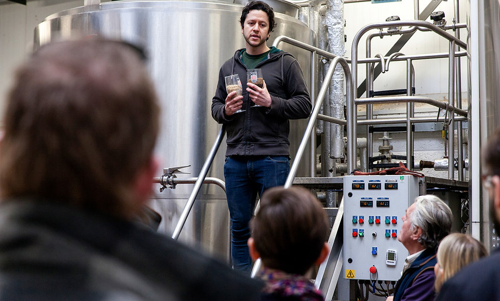 Bristol Craft Beer Experience with Boat Trip, Brewery Tour and Tasting for Two