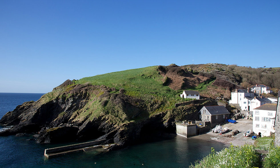 One Night Cornish Coastal Escape for Two at Lugger Hotel