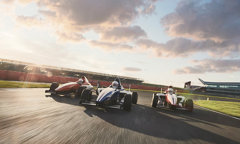 Formula Silverstone Single Seater Thrill and Three Course Meal