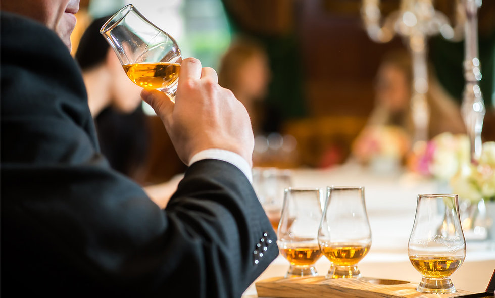 Whisky Tasting with Sharing Dishes for Two at the 4* Rubens, London