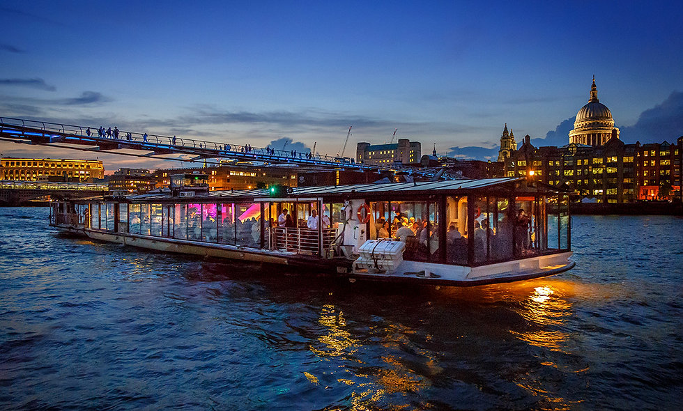 One Night London Escape with Bateaux Thames Dinner Cruise