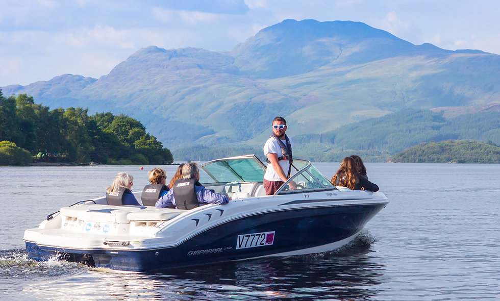 Luxury Speedboat Tour of Loch Lomond for Two