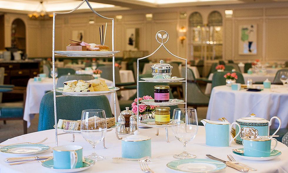 Fortnum & Mason Champagne Afternoon Tea for Two in Fortnum & Mason