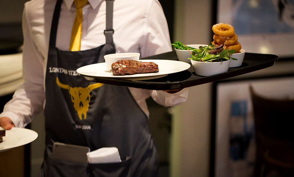 Three Course Champagne Celebration Dining at Marco Pierre White's Steakhouse