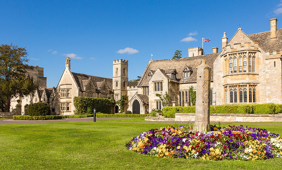 One Night Luxury Cotswolds Break with Dinner for Two at Ellenborough Park