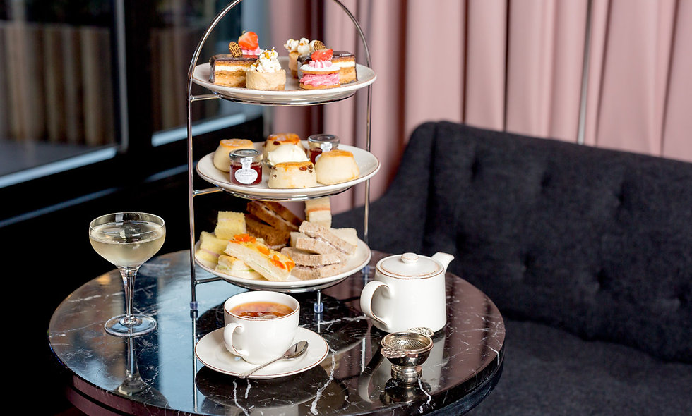 Traditional Afternoon Tea for Two in London at a R