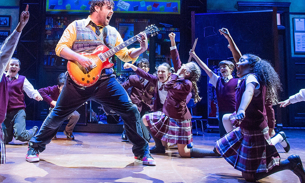 School of Rock Top Priced Theatre Tickets and Dinner