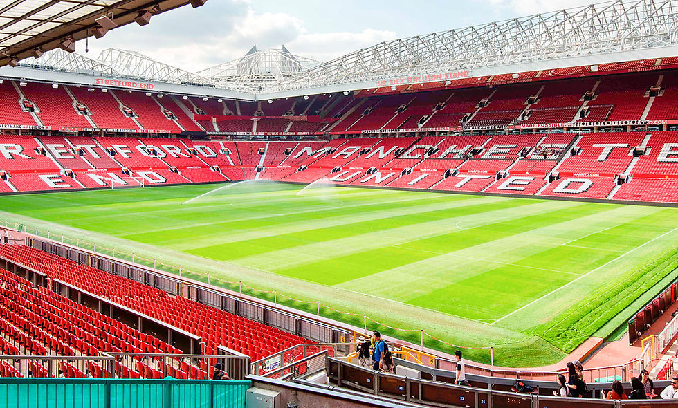 Manchester United Football Club Stadium Tour with Meal