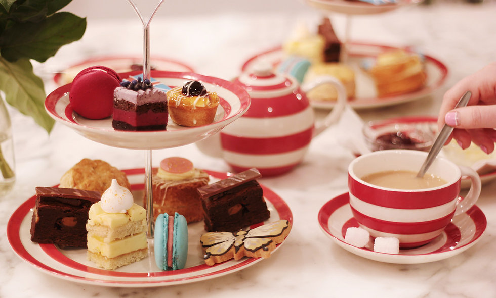 London Themed Afternoon Tea for Two at Biscuiteers