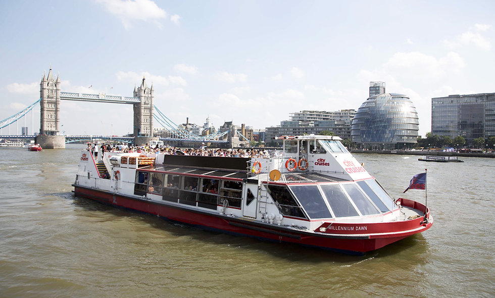 Three Course Meal at a Marco Pierre White Restaurant & Thames Cruise