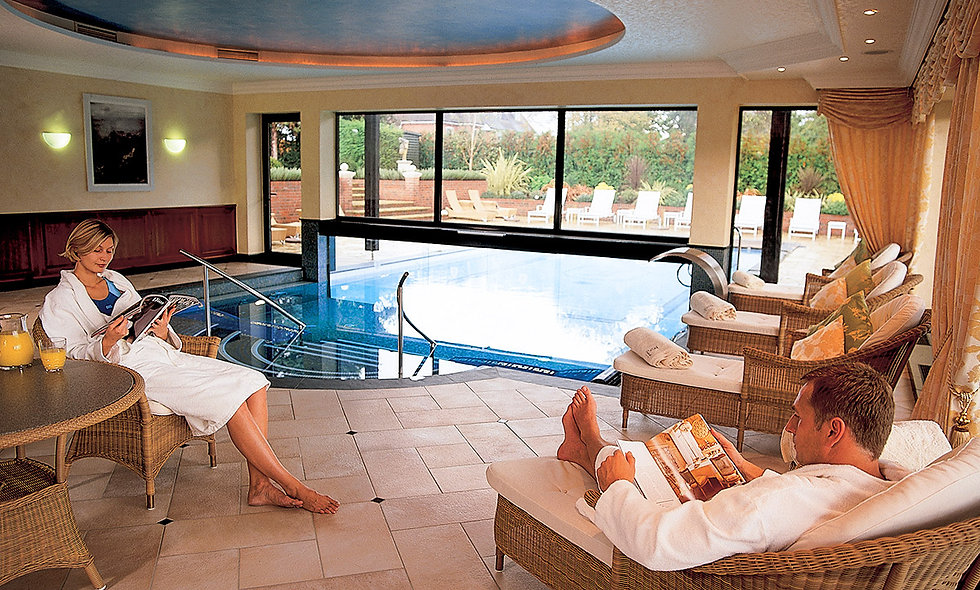 Revitalising Spa Day with Prosecco Lunch at Fredrick's Hotel