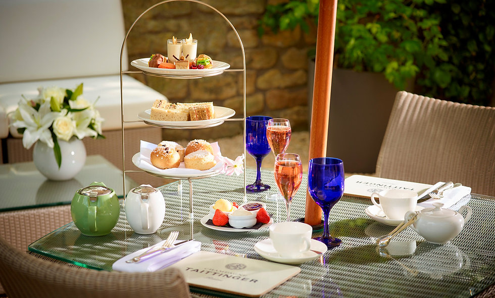 Champagne Afternoon Tea for Two at The Royal Crescent Hotel