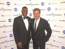Harold with Piers Morgan