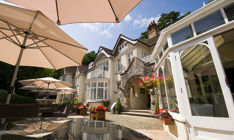 Champagne Afternoon Tea for Two at Chateau La Chaire, Jersey
