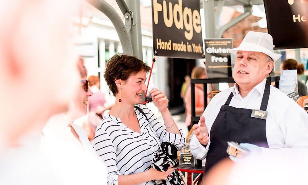 Hidden Gems Foodies Tour of York for Two