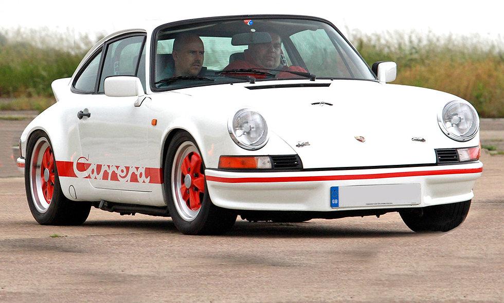 Classic Car Drive plus High Speed Passenger Ride