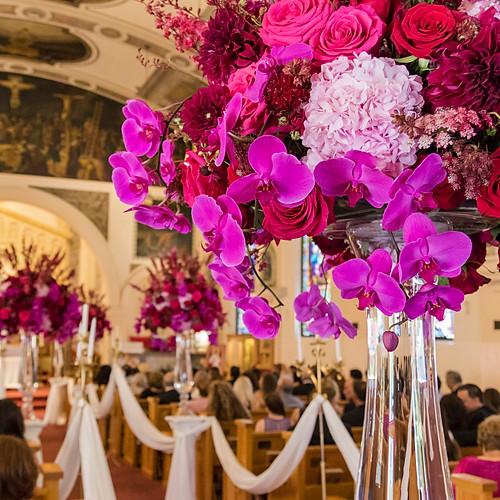 Wedding at Manchester Grand Hyatt