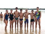 Seis triatletas murcianos participan en el Encuentro Nacional de Menores en la Estanca de Alcañiz
